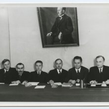 Tartu ülikooli nõukogu istung. 1930-ndad