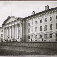 Tartu ülikooli peahoone. 1920-ndad