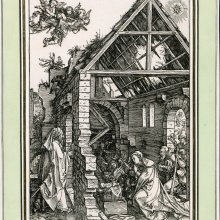 Albrecht Dürer. Kristuse sündimine / Nativity. 1502–1503. Puulõige / Woodcut