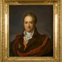 Franz Gerhard von Kügelgen. Johann Wolfgang von Goethe. 1808–1809. Õli, lõuend / Oil on canvas