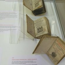 Gezelius exhibition at Tartu University Library
